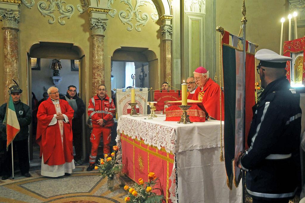 Villar Dora ha accolto con calore monsignor Cesare Nosiglia