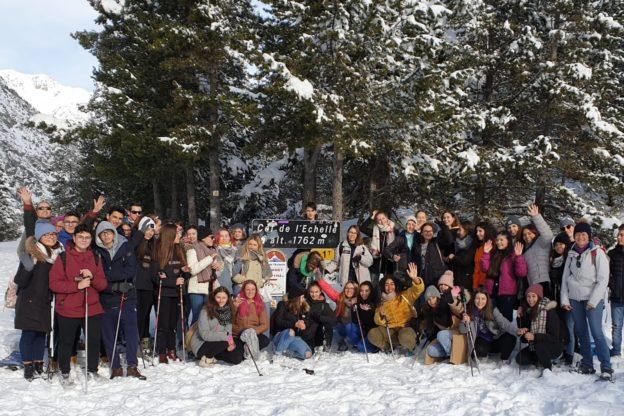 Giaveno, pascaliani e studenti francesi insieme oltre la frontiera