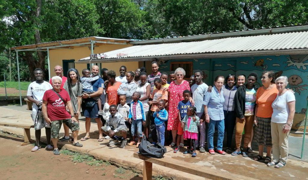 Giavenesi per venti giorni in missione nel cuore del Kenya