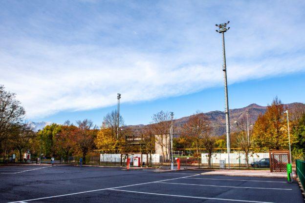 Ad Avigliana apre la nuova area di sosta per i camper- Foto