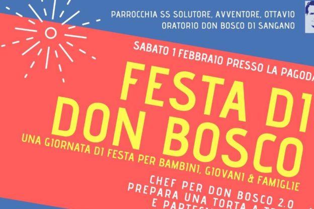 A Sangano si festeggia San Giovanni Bosco, sabato 1° febbraio