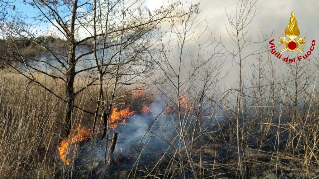 Spento l'incendio alle pendici del Monte Musinè