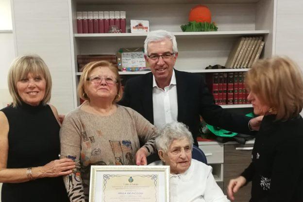 Sangano ha festeggiato una nuova centenaria