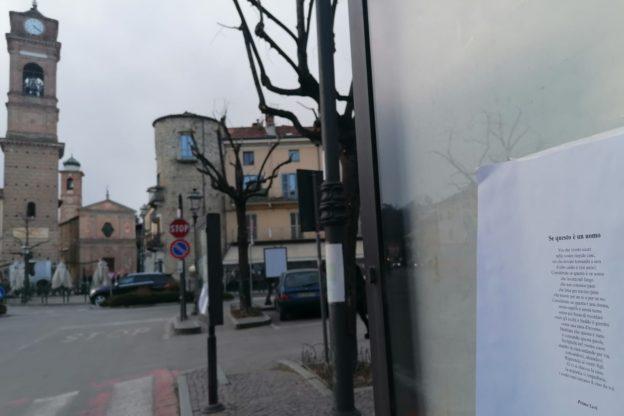 Giaveno, Primo Levi al posto delle scritte fasciste