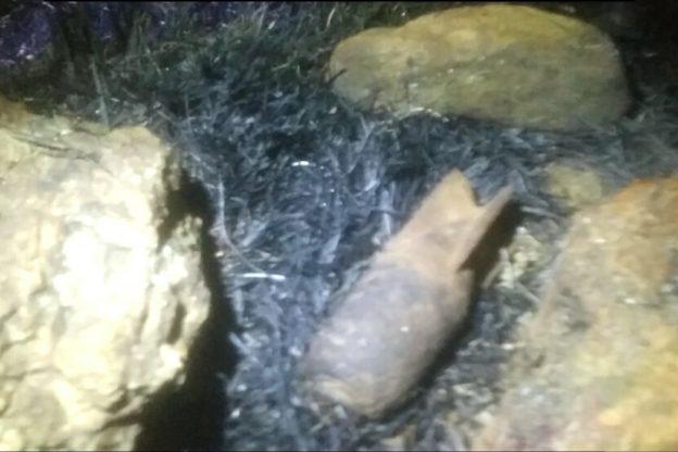Dopo l'incendio alle pendici del Musinè spunta un proiettile di mortaio
