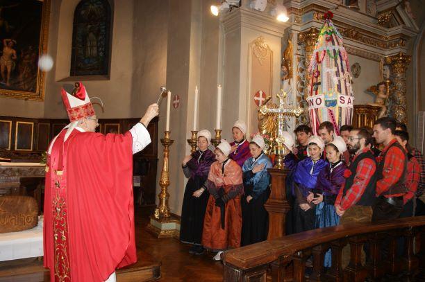 A Chiomonte torna a ballare la Puento per San Sebastiano