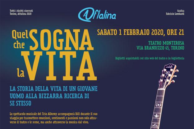 """""""Quel che sogna la vita"""", la Compagnia Aftalina in scena a Torino e Rivoli"""