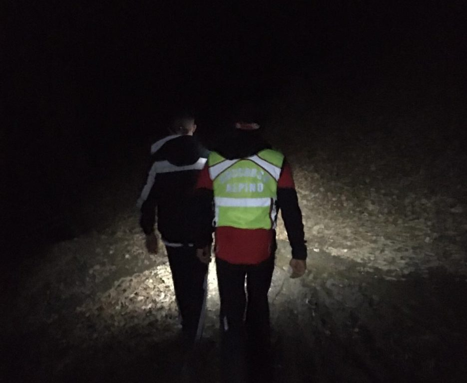 Sedicenne si perde nei boschi di Sangano. Ritrovato anche grazie a Whatsapp