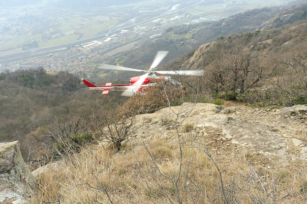 Incidente in montagna a Borgone: ferito un accompagnatore del Cai