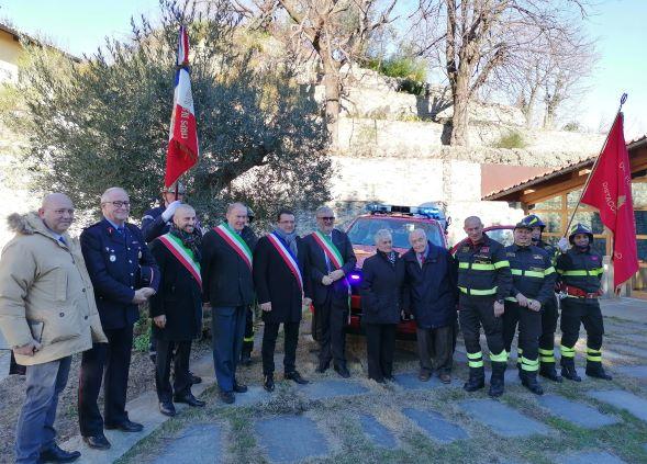 Nuovo automezzo e 5 pompieri in più per i Vigili del Fuoco di Giaveno