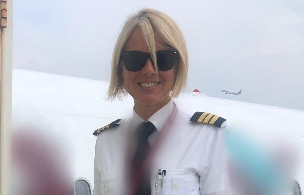 In volo con Vivien Allais, pilota coazzese di aerei di linea