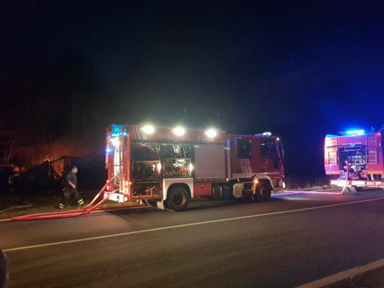 incendio chiusa sant'ambrogio 4 gennaio 2
