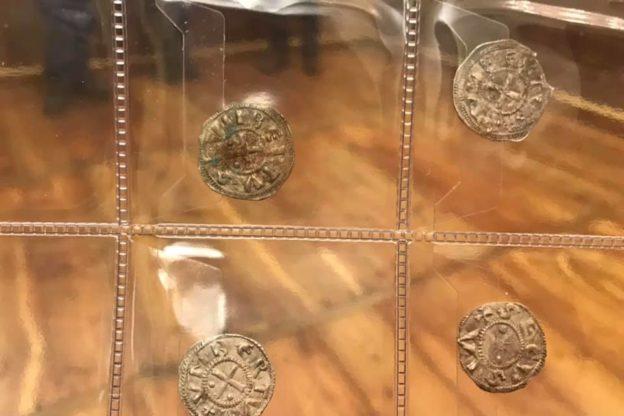 Sono tornate a Susa alcune monete coniate nel Medioevo