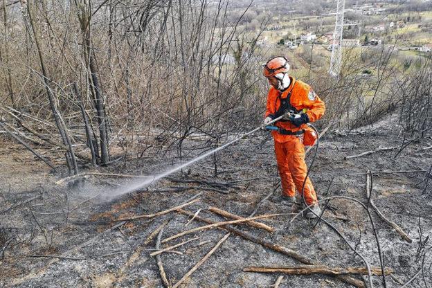 Dall'8 aprile scatta lo stato di massima pericolosità per gli incendi boschivi