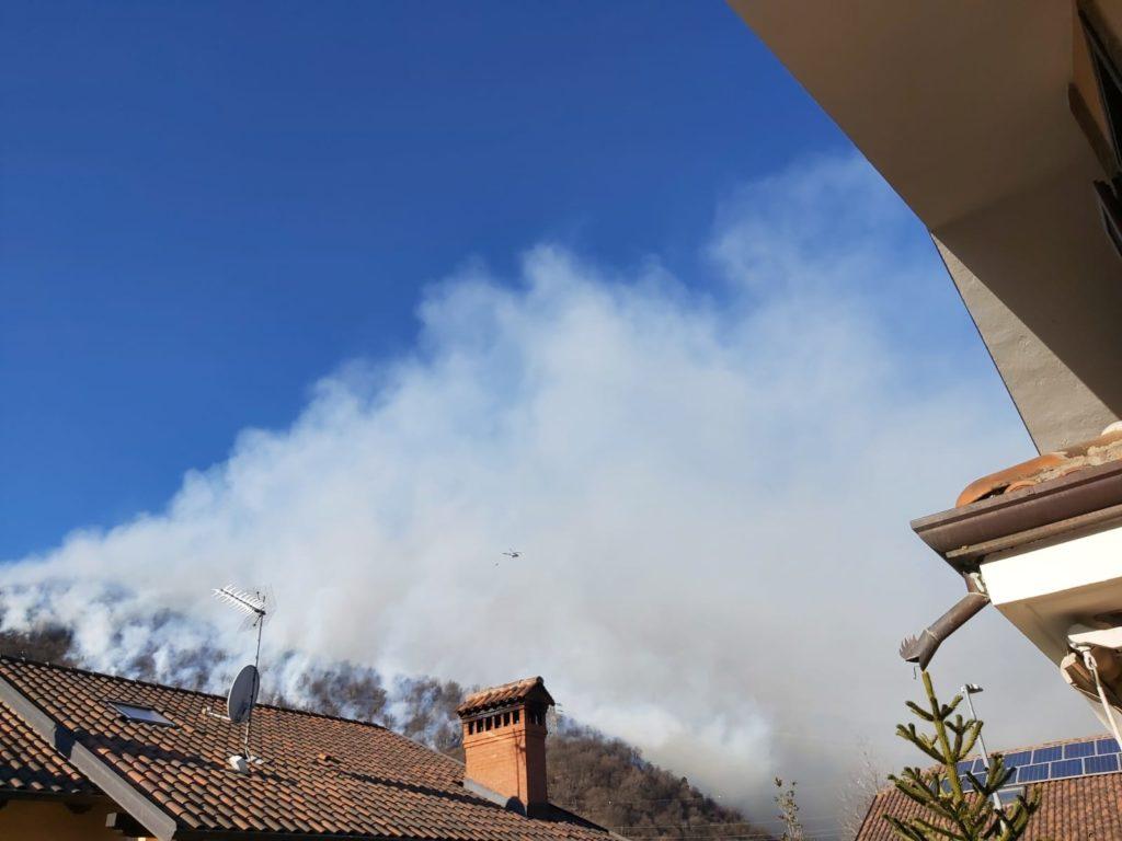 Dopo quasi due giorni è stato spento l'incendio in Val Sangone
