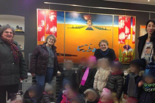 Con il Maestro Antonio Nunziante i bimbi imparano l'Arte sin da piccoli
