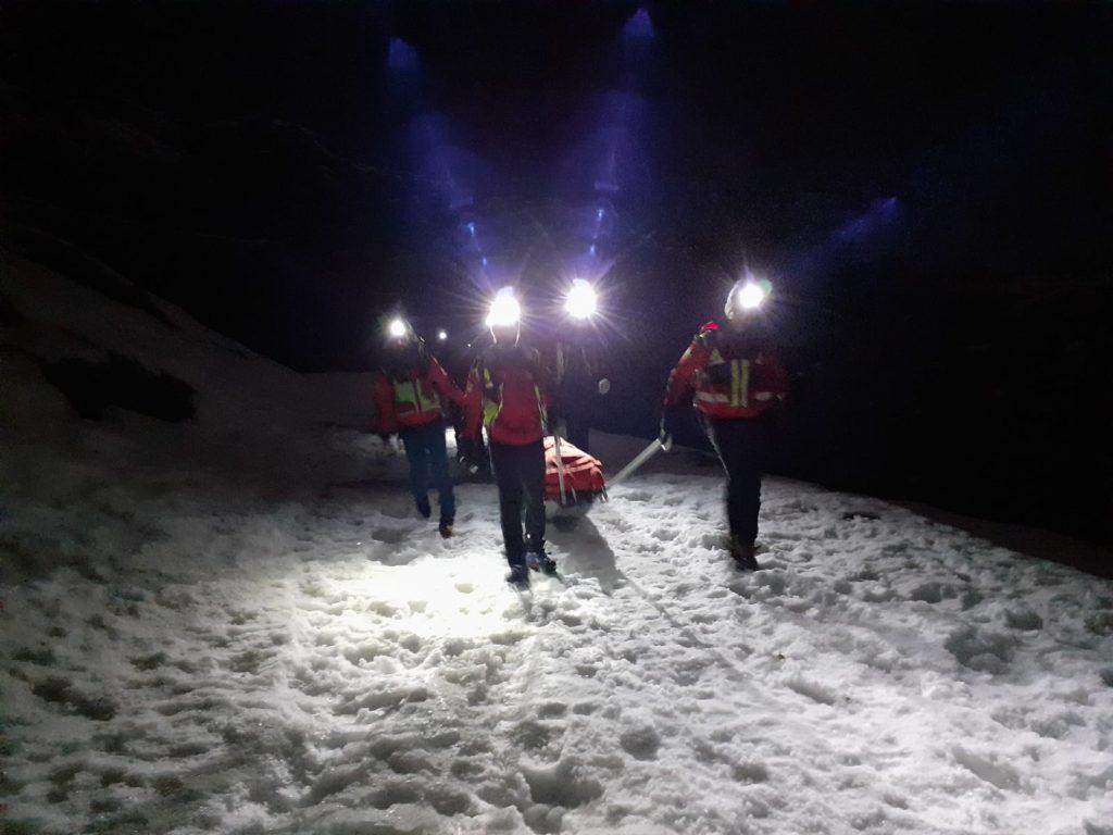 Coazze, alpinista cade nel Vallone del Sellery e si procura un trauma facciale