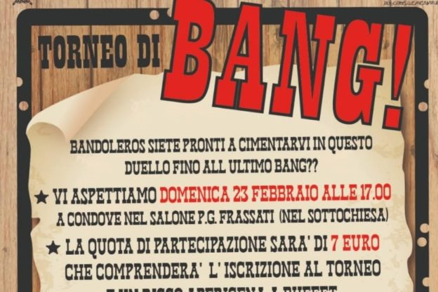 """""""Bang"""": il torneo del Clan di Condove"""