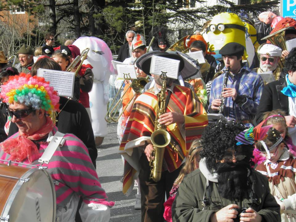 Carnevale a Novalesa, sfilata e musica