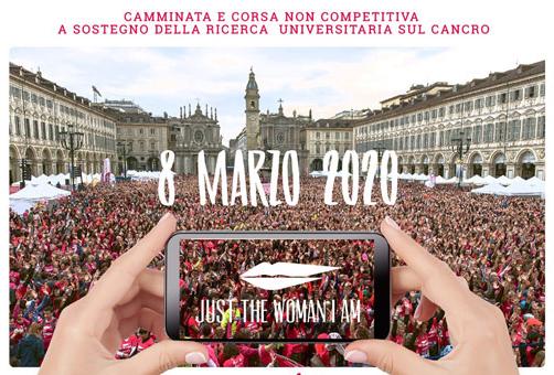 "Villar Dora partecipa alla corsa ""Just The Woman I Am 2020"""