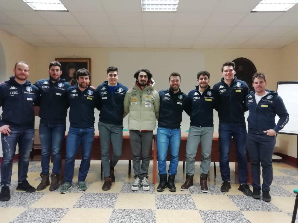 La Nazionale maschile di Sci Alpino si è allenata al Frais