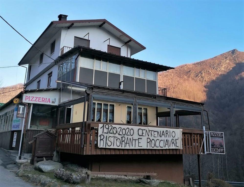 Il Ristorante Rocciavrè di Forno di Coazze compie cent'anni