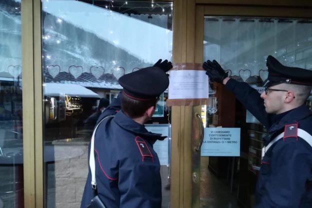 Bardonecchia, i Carabinieri sequestrano un bar e una pizzeria a un esponente della 'ndrangheta