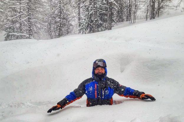 Marzo pazzerello: nevicata record a Bardonecchia