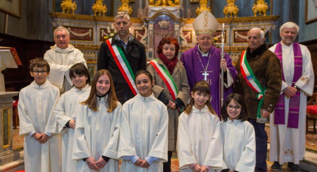Bussoleno ha accolto festosamente il Vescovo Cesare