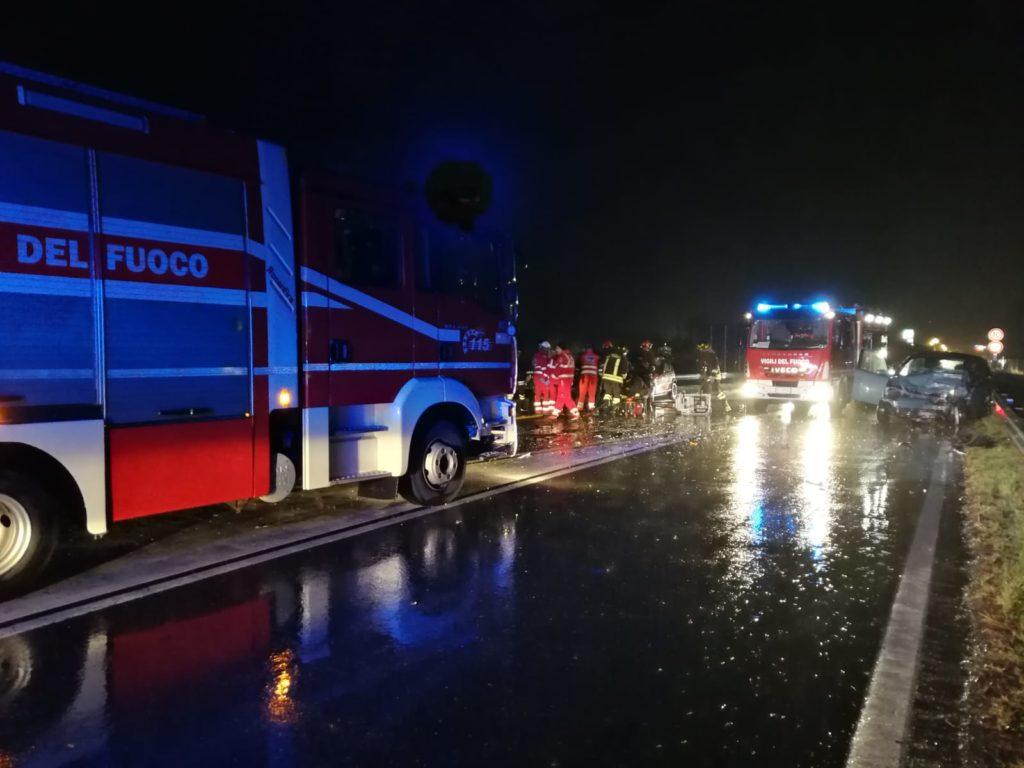 Grave incidente stradale in Val di Susa
