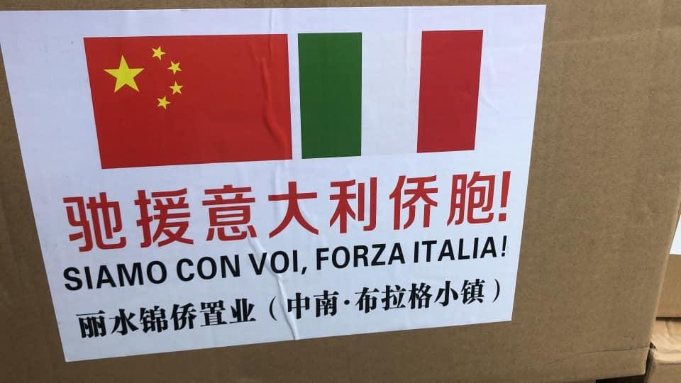 Coronavirus, quattro tir di aiuti sanitari dalla Cina per il Piemonte