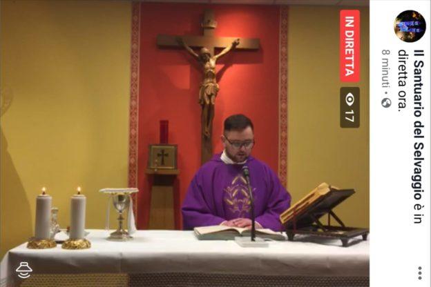 Giaveno, Messe in streaming dal Santuario del Selvaggio