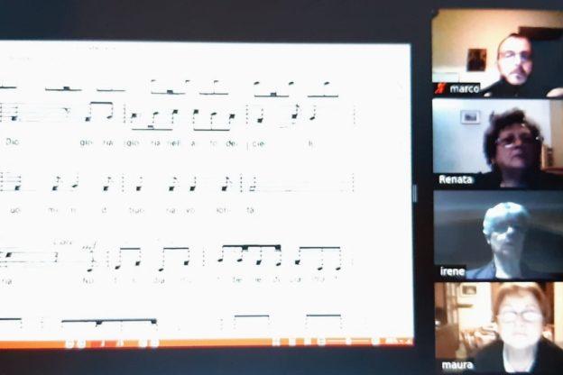 Cantare ai tempi del Coronavirus: il coro San Giorgio si sposta online