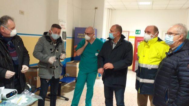 Consegna ventilatori polmonari Susa