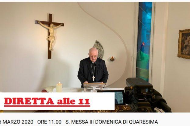 Il Vescovo Nosiglia celebra Messa in streaming