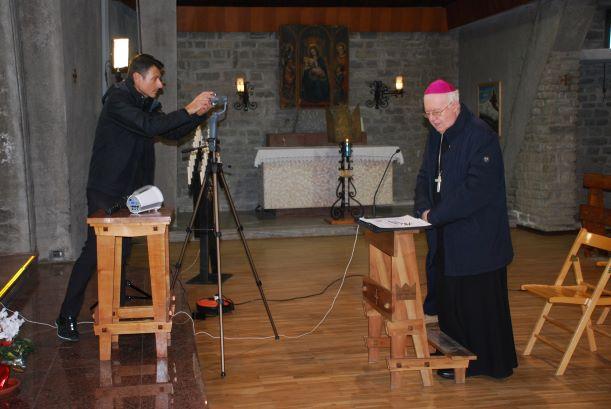 Le celebrazioni in streaming di questa settimana con il vescovo Cesare