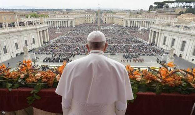 Riti Pasquali a porte chiuse in Vaticano