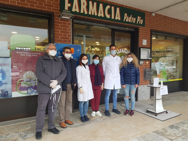 Vaie, Comune e Farmacia distribuiscono le mascherine