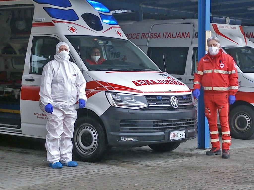 La Croce Rossa di Villar Dora in campo per l'emergenza Coronavirus