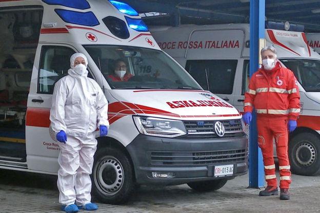 Fiaccolata della Croce Rossa di Villar Dora