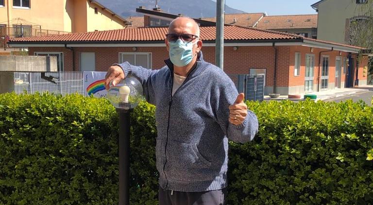 S.Antonino: Maurizio Perrone ha quasi battuto il Coronavirus