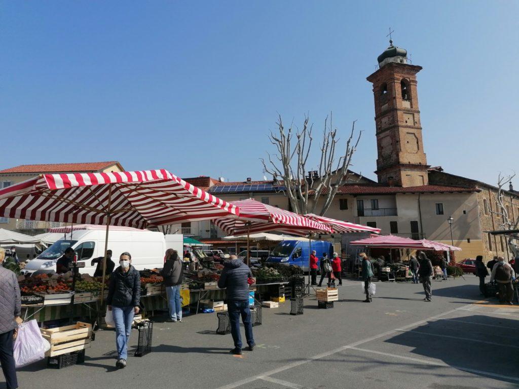 Giaveno, niente mercato a Santo Stefano