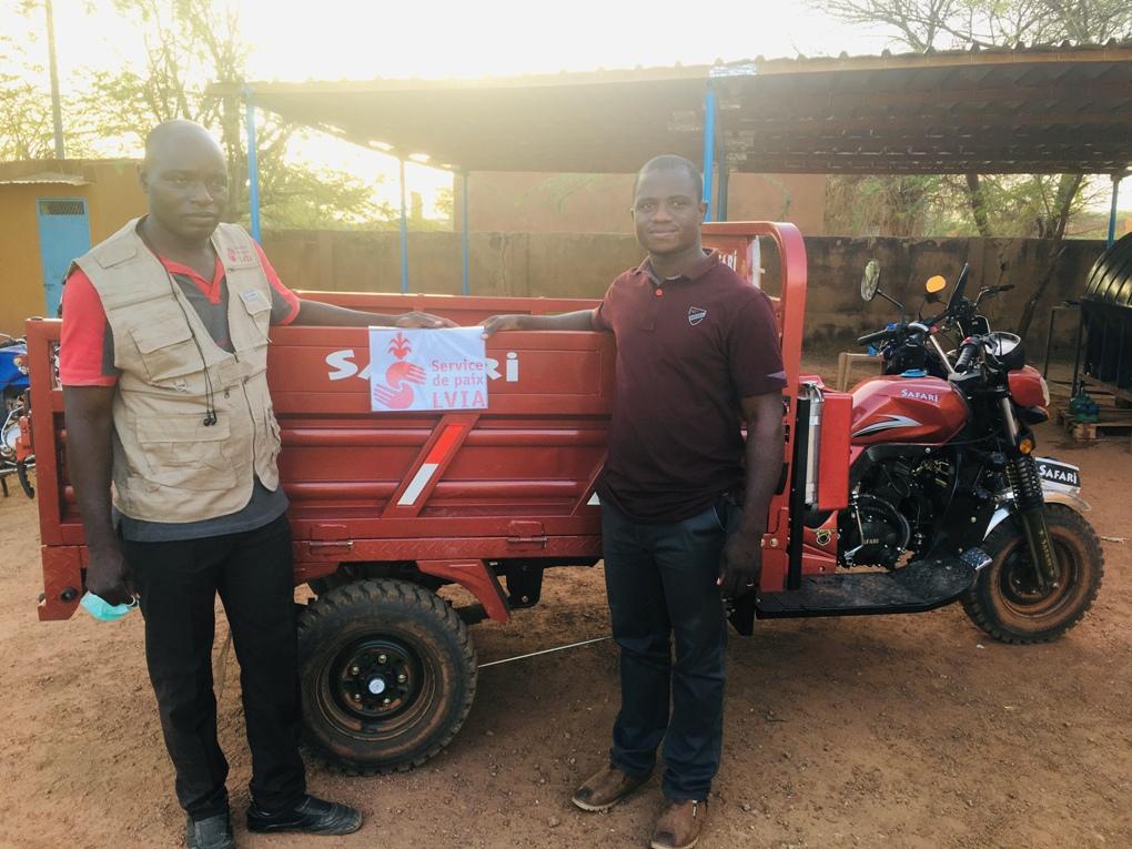 In Burkina Faso arrivano le moto- ambulanze, grazie alla generosità dei sanganesi