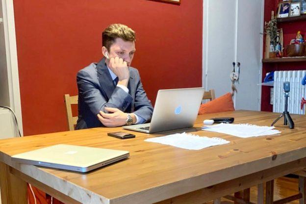 """Riccardo Brezzo è uno dei primi laureati """"smart"""" in Italia"""