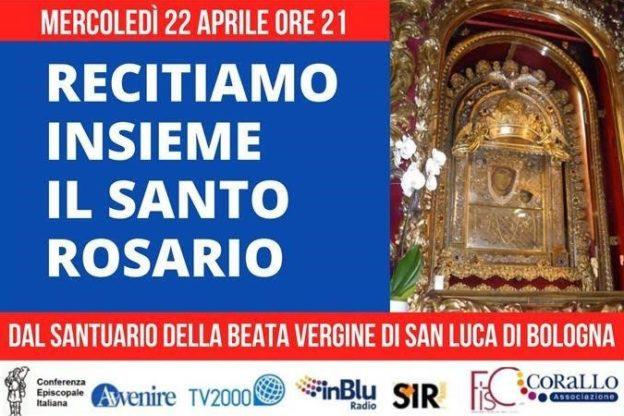 Mercoledì 22 aprile su TV2000 e InBluradio si recita il Rosario