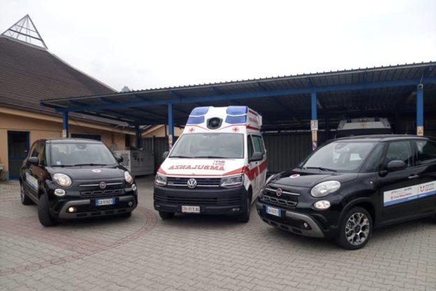 Potenziato il parco auto della Croce Rossa di Villar Dora
