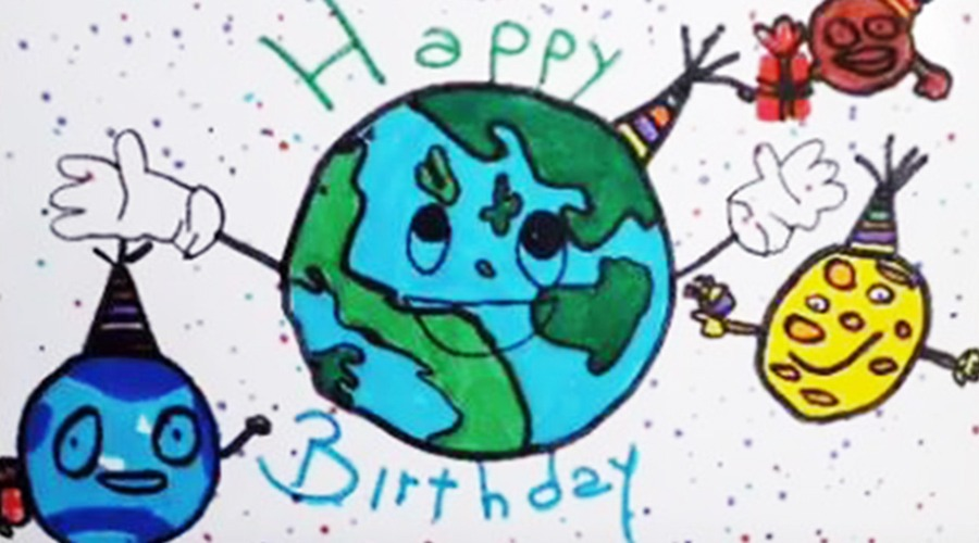 Gli alunni del Maria Ausiliatrice di Giaveno celebrano la Giornata della Terra