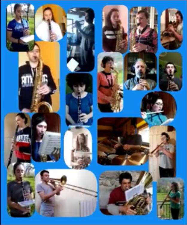 La Banda Musicale di Novalesa rallegra la quarantena