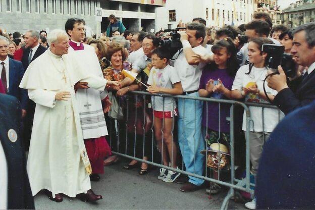 I cento anni di San Giovanni Paolo II e la sua visita a Susa