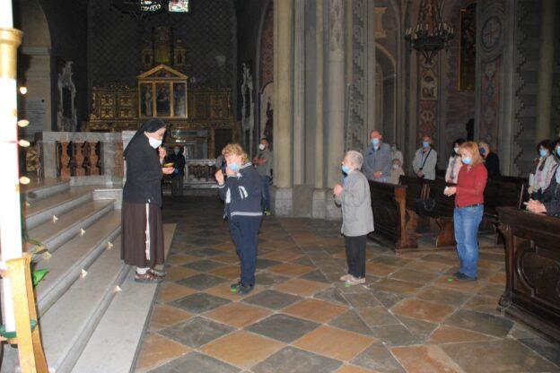 Susa, dopo tanto tempo la prima Messa con i fedeli in Cattedrale